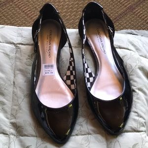 9 1/2 NOT leather dress casual shoes EUC